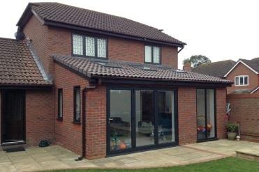 CK Architectural Gloucestershire - rear single storey extension design ideas
