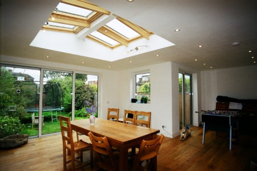 single storey extension design, planning and building regulations in Gloucester, Cheltenham and other areas in Gloucestershire